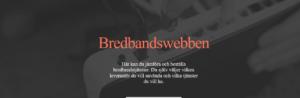 Bredbandswebben
