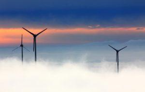 vindkraftverk dimma
